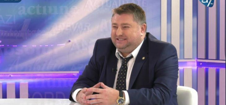 "Chairman of IUBCCI Nasty Marian Vladoiu LIVE in the TV show ""Under the Magnifier"""
